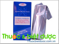 Androxyl syrup 250mg/5ml